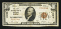 National Bank Notes:Colorado, Limon, CO - $10 1929 Ty. 1 The First NB Ch. # 11504. ...