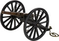 Other Hand Weapons, Large Model of a British Breech Loading Cannon...