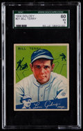 Baseball Cards:Singles (1930-1939), 1934 Goudey Bill Terry #21 SGC 60 EX 5....