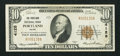 National Bank Notes:Maine, Portland, ME - $10 1929 Ty. 1 The Portland NB Ch. # 4128. ...