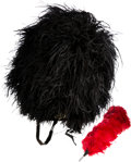 Military & Patriotic:Foreign Wars, British Black Watch Feather Busby / Bonnet...
