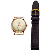 Marvin 14k Pink Gold Manual Wind Wristwatch