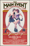 "Movie Posters:Sports, The Main Event (Warner Brothers, 1979). One Sheet (27"" X 41""), Deluxe Lobby Card Set of 8 (11"" X 14""), Mini Lobby Card, Delu... (Total: 18 Items)"