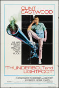 """Movie Posters:Crime, Thunderbolt and Lightfoot (United Artists, 1974). One Sheet (27"""" X41"""") Style C. Crime.. ..."""