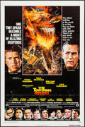 "Movie Posters:Action, The Towering Inferno (20th Century Fox, 1974). One Sheet (27"" X41"") & Mini Lobby Cards (2) (8"" X 10""). Action.. ... (Total: 3Items)"