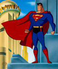 Animation Art:Limited Edition Cel, Superman: The Animated Series Limited Edition Cel (WarnerBrothers, 1996/2000)....