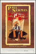 """Movie Posters:Western, The Life and Times of Judge Roy Bean (National General, 1972). One Sheet (27"""" X 41"""") & Mini Lobby Cards (4) (8"""" X 10""""). West... (Total: 5 Items)"""
