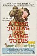 "Movie Posters:Drama, A Time to Love and a Time to Die & Other Lot (UniversalInternational, 1958). One Sheets (2) (27"" X 41""). Drama.. ...(Total: 2 Items)"