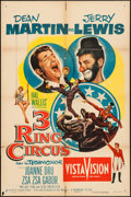 """Movie Posters:Comedy, 3 Ring Circus & Other Lot (Paramount, 1954). One Sheets (2) (27"""" X 41""""). Comedy.. ... (Total: 2 Items)"""