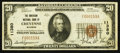 National Bank Notes:Wyoming, Cheyenne, WY - $20 1929 Ty. 1 The American NB Ch. # 11380. ...