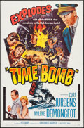 """Movie Posters:Drama, Operation Time Bomb & Others Lot (Allied Artists, 1961). One Sheets (3) (27"""" X 41"""") Alternate Title: Time Bomb. Drama.. ... (Total: 3 Items)"""