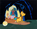 Animation Art:Production Cel, Dr. Seuss' How the Grinch Stole Christmas Max Production Cel(MGM, 1966). ...