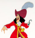 Animation Art:Production Cel, Peter Pan Captain Hook Production Cel (Walt Disney,1953)....