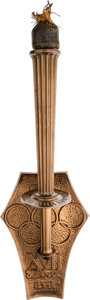 Miscellaneous Collectibles:General, 1960 Rome Summer Olympics Final Torch of the Flame Relay....
