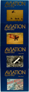 Books:Periodicals, [Periodical, Aviation]. LIMITED. Aviation Quarterly, Vol. 3,No.s 1-4. Dallas: Aviation Quarterly, 1977.... (Total: 4 Items)