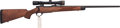 Long Guns:Bolt Action, Cased .300 WS Nosler Custom Bolt Action Rifle with Telescopic Sight.. ...