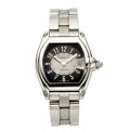 Estate Jewelry:Watches, Cartier Gentleman's Stainless Steel Roadster Automatic Watch. ...