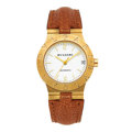 "Estate Jewelry:Watches, Bvlgari Lady's Gold ""Diagono"" Watch. ..."
