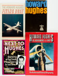Books:Biography & Memoir, [Aviation]. [Howard Hughes, subject]. Group of Four Books. Various publishers and dates.... (Total: 4 Items)