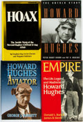 Books:Biography & Memoir, [Aviation]. [Howard Hughes, subject] Group of Four Biographies.Various publishers and dates.... (Total: 4 Items)