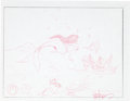 Animation Art:Production Drawing, Topper Helmers Ariel's Scavenger Hunt Attraction ConceptSketch Group of 3 (Disney, 1990s).... (Total: 3 Original Art)