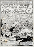 Original Comic Art:Splash Pages, Herb Trimpe and Syd Shores Sgt. Fury #92 Splash Page 1Original Art (Marvel, 1971)....