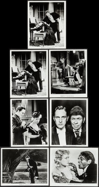 """Dr. Jekyll and Mr. Hyde (MGM, R-1972). Restrike Photos (7) (8"""" X 10""""). Horror. ... (Total: 7 Items)"""