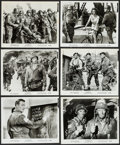"""Movie Posters:War, The Longest Day (20th Century Fox, 1962/R-1969). Portrait and ScenePhotos (35) (8"""" X 10""""). War.. ... (Total: 35 Items)"""