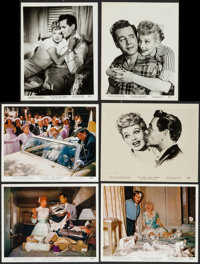 """The Long, Long Trailer (MGM, 1954). Color Photos (3) & Photos (23) (approx. 8"""" X 10""""). Comedy. ... (To..."""