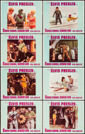 "Movie Posters:Elvis Presley, Easy Come, Easy Go (Paramount, 1967). Lobby Card Set of 8 (11"" X14""). Elvis Presley.. ... (Total: 8 Items)"