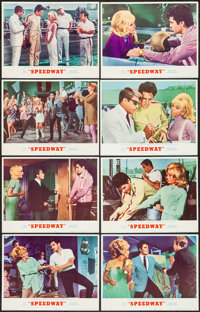 "Speedway (MGM, 1968). Lobby Card Set of 8 (11"" X 14""). Elvis Presley. ... (Total: 8 Items)"