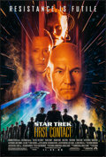 "Movie Posters:Science Fiction, Star Trek: First Contact (Paramount, 1996). One Sheet (26.75"" X39.75"") DS Advance. Science Fiction.. ..."