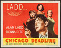"Movie Posters:Film Noir, Chicago Deadline (Paramount, 1949). Half Sheet (22"" X 28"") Style B.Film Noir.. ..."