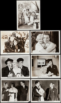 """Dames & Others Lot (Warner Brothers, 1934). Photos (7) (8"""" X 10.25""""). Musical. ... (Total: 7 Items)"""