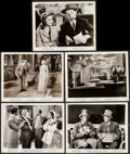 """Movie Posters:Musical, Dixie & Other Lot (Paramount, 1943). Photos (5) (approx. 8"""" X 10""""). Musical.. ... (Total: 5 Items)"""