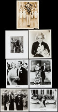 """Movie Posters:Musical, Shirley Temple in Rebecca of Sunnybrook Farm & Others Lot (20th Century Fox, 1938). Photos (7) (8"""" X 10""""). Musical.. ... (Total: 7 Items)"""