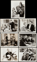 "Movie Posters:Comedy, Two for Tonight (Paramount, 1935). Photos (7) (Approx. 8"" X 10""). Comedy.. ... (Total: 7 Items)"