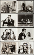 "Movie Posters:Musical, Happiness Ahead & Others Lot (Warner Brothers, 1934). Photos(6) (approx. 8"" X 10"") & Trimmed Photos (2) (7.75"" X 10"", 8"" X... (Total: 8 Items)"