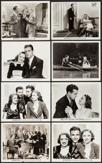 """Happiness Ahead & Others Lot (Warner Brothers, 1934). Photos (6) (approx. 8"""" X 10"""") & Trimmed..."""