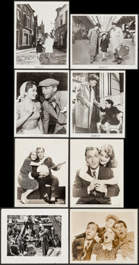 "Sing You Sinners & Others Lot (Paramount, 1938). Portrait and Scene Photos (8) (8"" X 10""). Musical..."