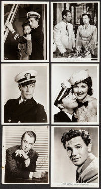 "Murder in the Fleet & Others Lot (MGM, 1935). Photos (9) (8"" X 10"") & Trimmed Photo (8"" X..."