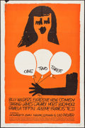 "Movie Posters:Comedy, One, Two, Three (United Artists, 1962). One Sheet (27"" X 41"").Comedy.. ..."