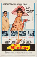 """Movie Posters:Comedy, The Millionairess (20th Century Fox, 1960). One Sheet (27"""" X 41"""").Comedy.. ..."""