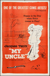 "Mon Oncle (Continental, 1959). One Sheet (27"" X 41""). Foreign"