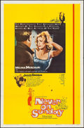 "Movie Posters:Foreign, Never on Sunday (Lopert, 1960). One Sheet (27"" X 41""). Foreign....."