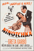 "Movie Posters:Comedy, Ninotchka (MGM, R-1962). One Sheet (27"" X 41""). Comedy.. ..."