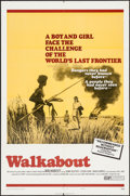 """Movie Posters:Adventure, Walkabout (20th Century Fox, 1971). One Sheet (27"""" X 41"""") Style B & Mini Lobby Cards (4) (8"""" X 10""""). Adventure.. ... (Total: 5 Items)"""