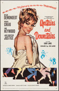 "Movie Posters:Comedy, Upstairs and Downstairs (20th Century Fox, 1960). One Sheet (27"" X41""). Comedy.. ..."