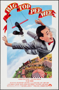 "Big Top Pee-Wee (Paramount, 1988). One Sheet (27"" X 41""). Comedy"