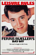 """Movie Posters:Comedy, Ferris Bueller's Day Off (Paramount, 1986). One Sheet (27"""" X 41"""").Comedy.. ..."""